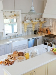 Sarah Richardson's tricked-out IKEA kitchen . . .