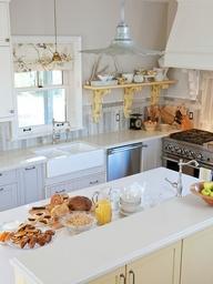 Sarah Richardson's tricked-out IKEA kitchen . . .