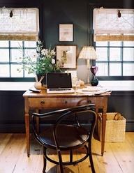 black room w. desk