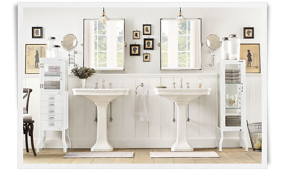 My Restoration Hardware Bathroom Dreams