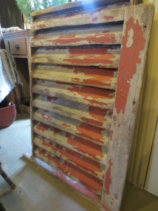 I'm wishing I'd gotten this awesome barn vent with the flaking red paint!