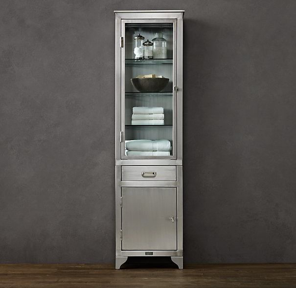 Restoration hardware bathroom storage cabinets ppi blog for Restoration hardware bathroom cabinets