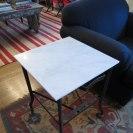 Typewriter table in progress