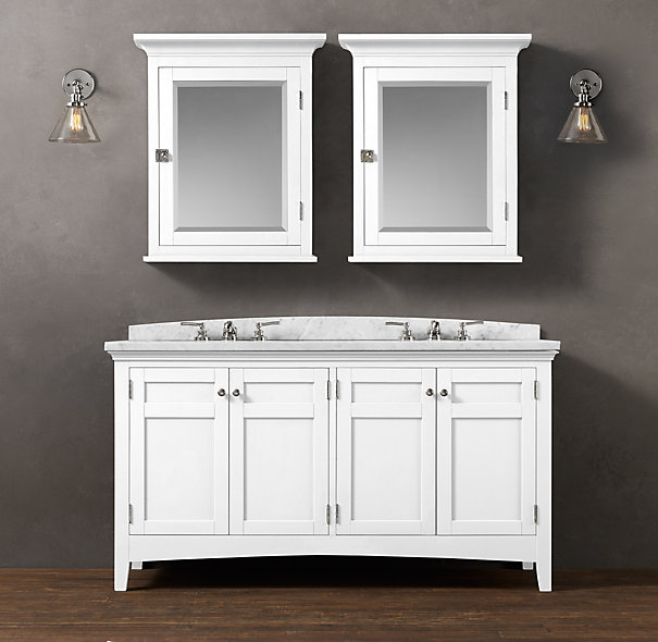 New  In Httpwwwsquidoocomrestorationhardwarestylebathroomvanities