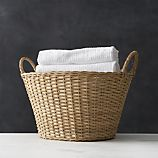 I'd like to buy this + kick my plastic laundry basket to the curb!  $34.95