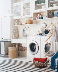 . . . when I realized my laundry room isn't this laundry room!