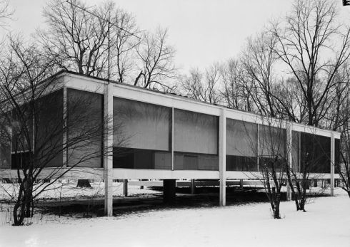 architecture -- farnsworth house