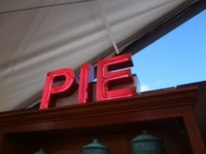 baking -- pie sign