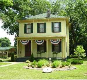 gma+pa's house -- front garden