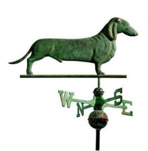 dachshund weathervane