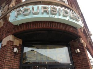 Foursided  on Clark Street in Andersonville