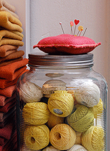 CL store jar with string