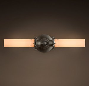 restorationhardware bath light #1