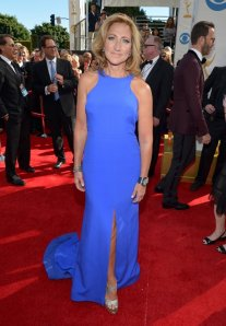 emmy fashions -- edie falco