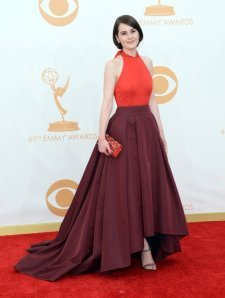 emmy fashions -- michelle dockery