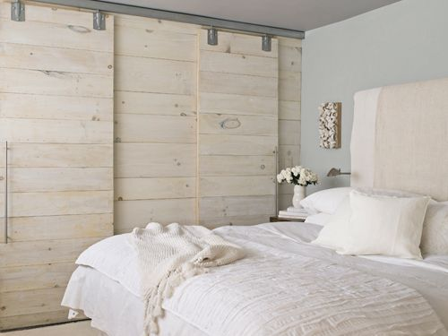 Sliding barn track redbird for Bedroom closet barn doors