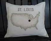 pillow -- st. louis