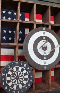 cabin christmas -- alan's targets