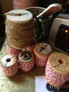 cabin christmas -- stacey's spools