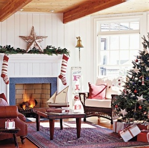 chrismtas -- magazine coastal living