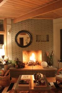 alan's roaring fireplace