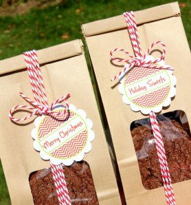 christmas gifts - the bakers something bags