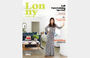 lonny magazine cover -- november 2013