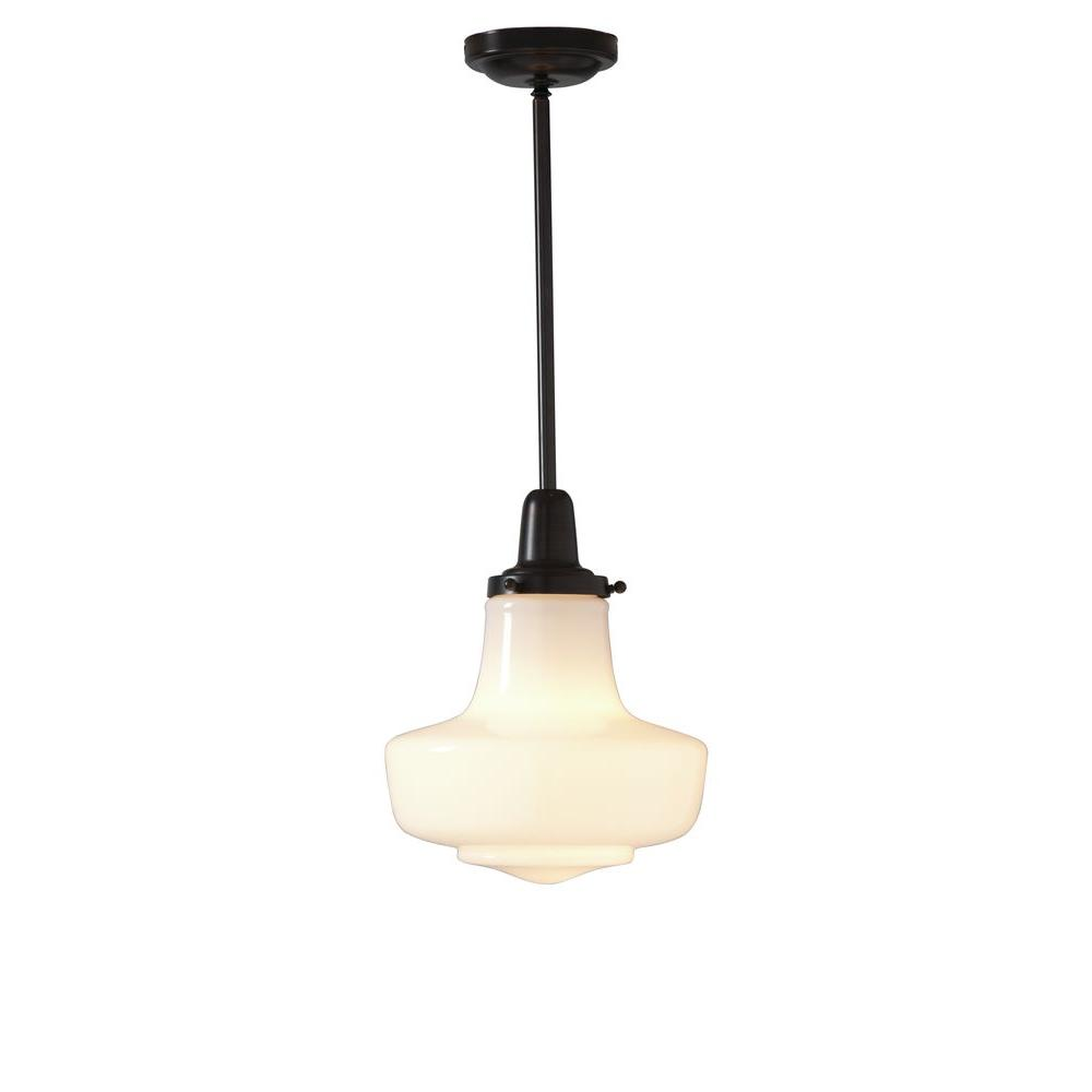 this schoolhouse pendant from home depot. Black Bedroom Furniture Sets. Home Design Ideas