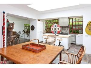 karin blake's malibu kitchen from dining room