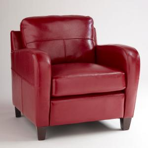 red leather chair -- take 2 -- #1