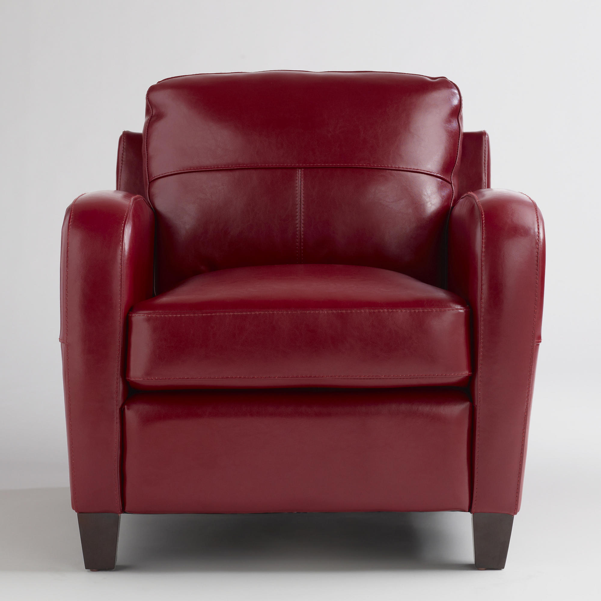 Captivating Red Leather Chair    Take 2    #2