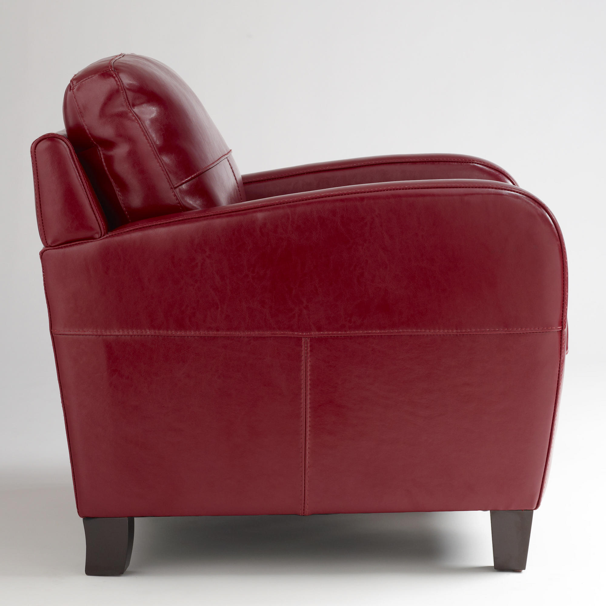Red Leather Chair Obsession