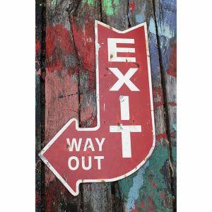 exit signage -- dotandbo