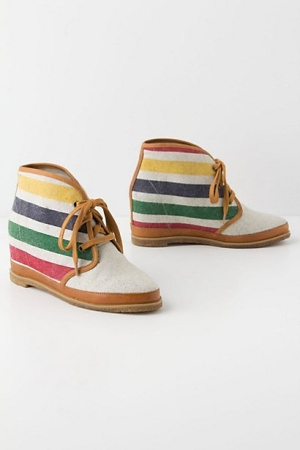 Hudson's Bay booties anthropologie.com