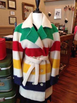 hudson bay coat @ betty's in morris