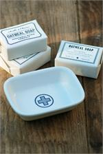 farmhouse apothecary soap dish $16.95