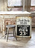 farmhouse fresh pie sign -- $64.95