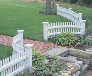walpole woodworkers picket fence