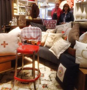 west elm shindig -- my booth