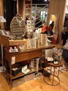 west elm shindig -- Stacey's booth