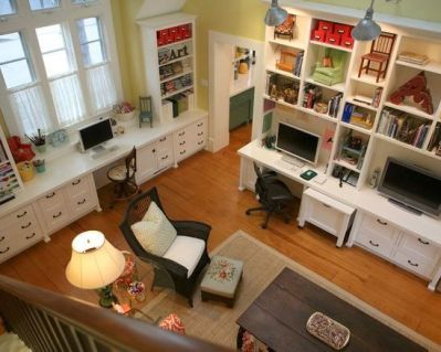 alison kandler office-family room from above
