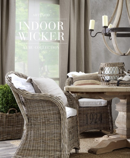 Wicker Dining Room Chairs: Wicker + Bench Dining Room Trends