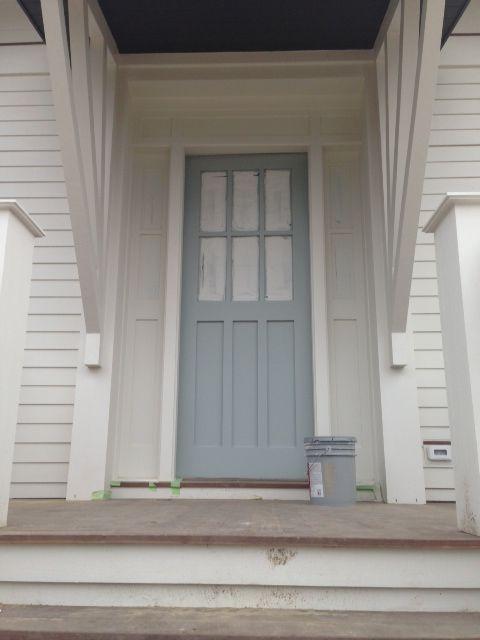 Front Doors To Let In Light : Front door color redbird