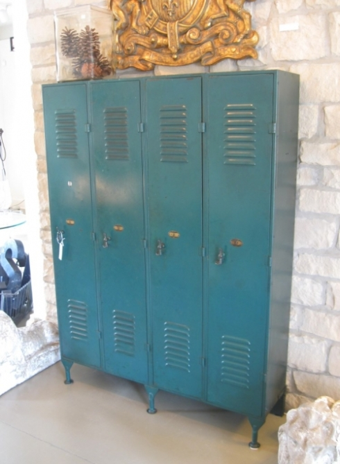 1930's teal lockers