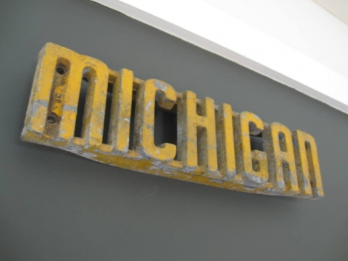 Michigan sign