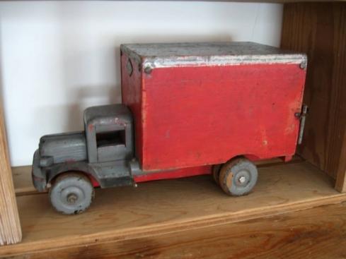 Wooden 1930's truck