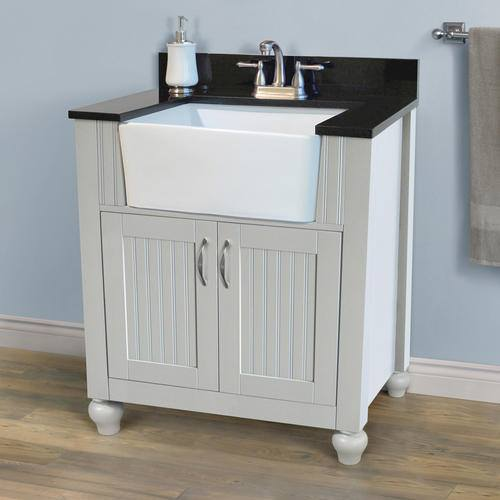 Elegant The Opening In Our Bathroom For The Vanity Is 4775 Inches Ive Never Remodeled A Bathroom Before And Could Use Some Advice Would It Be Cheaper To Buy A 49&quot Precut Top Which Usually Includes The Sink And Cut Some Off The Sides Or