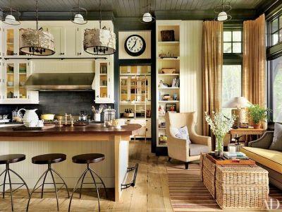 kitchen -- tom felicia adirondacks