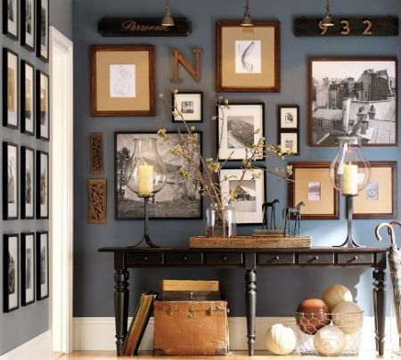 navy wall -- pottery barn