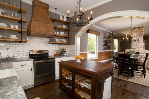 Kitchen Island Columns furthermore Gray Cabi s Black Countertop Farmhouse Kitchen moreover Tile Tile Accessories Flooring together with 105342078757275236 further Reclaimed Lumber Beam Range Hood. on backsplash tile ideas for small kitchens